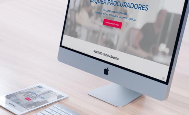 Diseño Web Procuradores Esquer